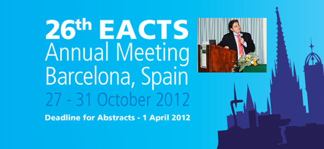 26th EACTS Annual Meeting Barcelona, Spain