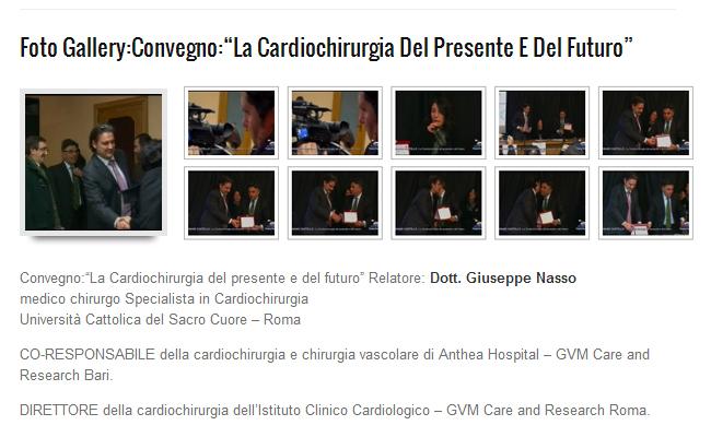 """Fotogallery Convegno: """"La cardiochirurgia del presente e del futuro"""""""