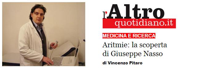 Aritmie: la scoperta di Giuseppe Nasso