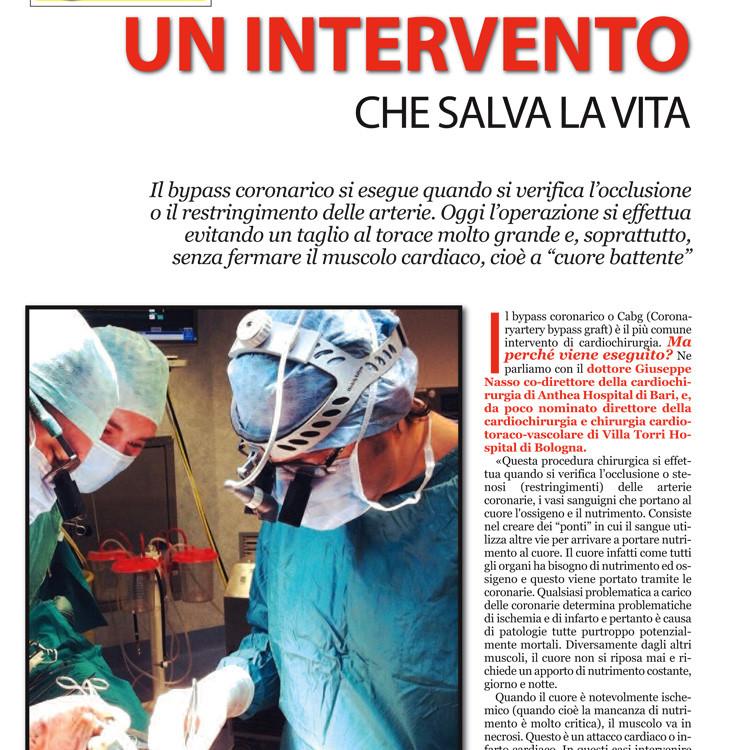 Un intervento che salva la vita